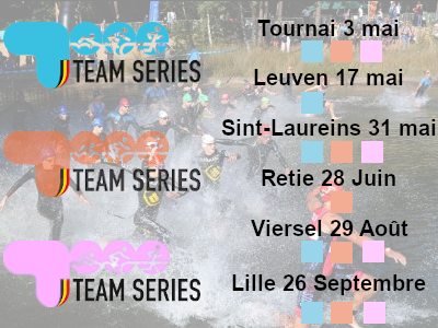 Triathlon Team Series 2020 - Calendrier